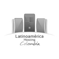 Logotipo Latinoamerica Hosting Colombia (versión b&w)
