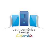Logotipo Latinoamerica Hosting Colombia (versión color)